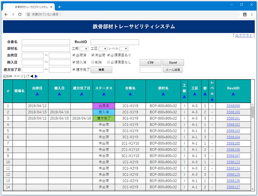管理画面(PC)