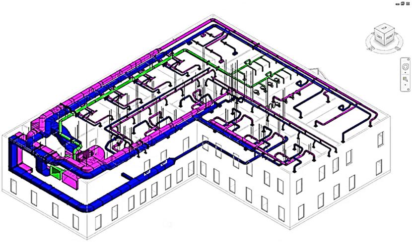 BIMソフトウェア(イメージ図)